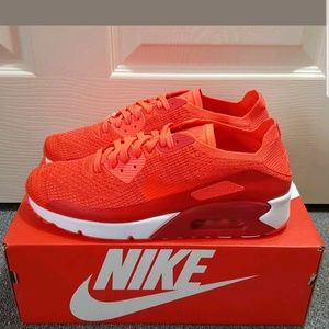 brand new fabbb b2517 Nike Shoes - Nike Air Max 90 Ultra 2.0 Flyknit Red Shoes